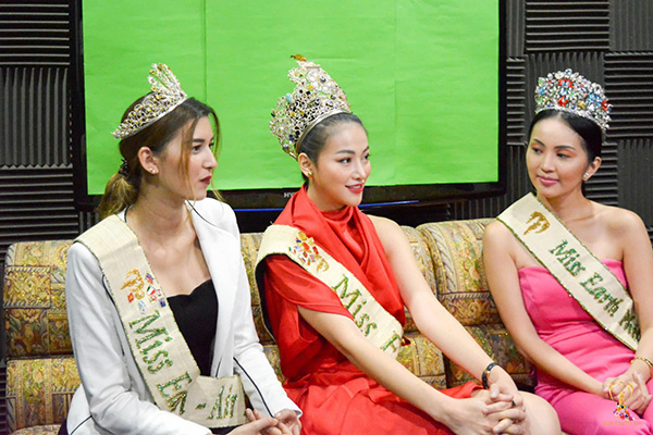 Phương Khánh xuất hiện xinh đẹp trên kênh truyền hình hàng đầu của Philippines 3