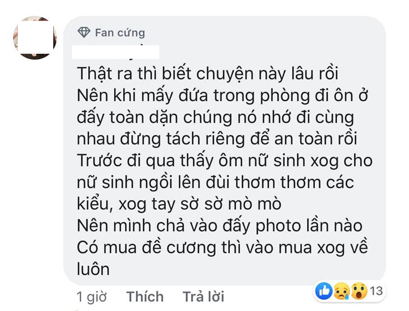 Bị học viên tố quấy rối tình dục, chủ Trung tâm tin học ở Hà Nội khẳng định: 'Có người lập nick giả hại tôi' 4