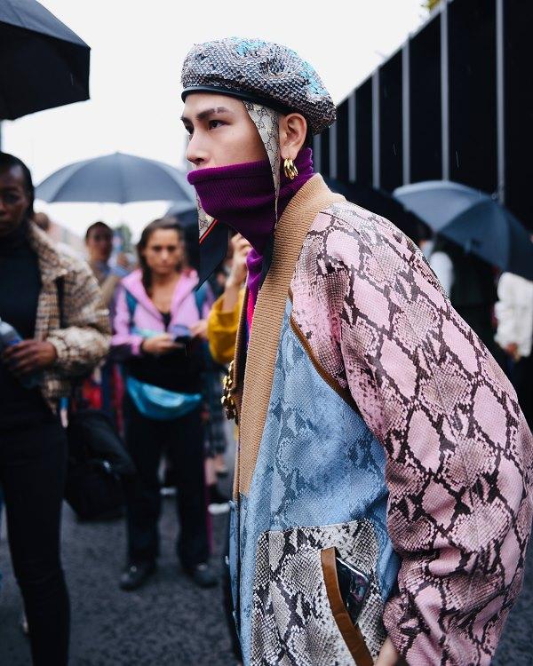 Châu Bùi - Decao xuất hiện tại Milan Fashion Week 2020 với trang phục 'thân ai nấy lo' nhưng lại hài hòa không tưởng 4