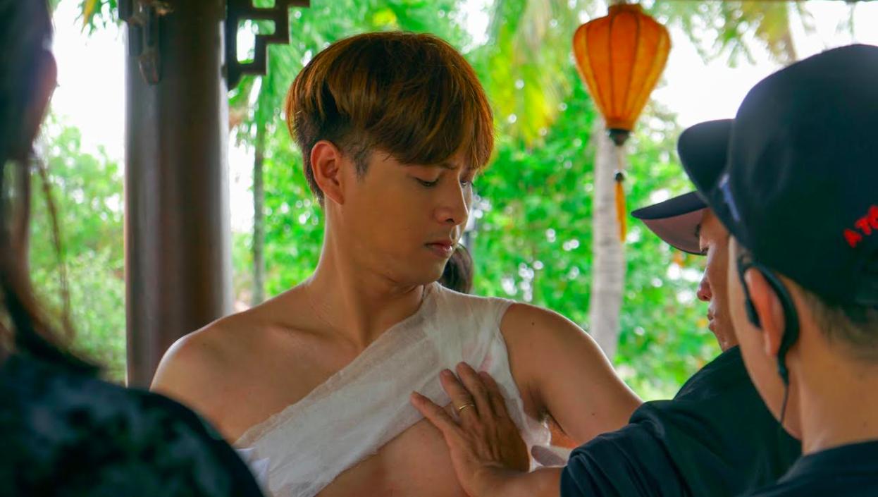 Tạo hình của Hồ Quang Hiếu trong sản phẩm phim mới nhất