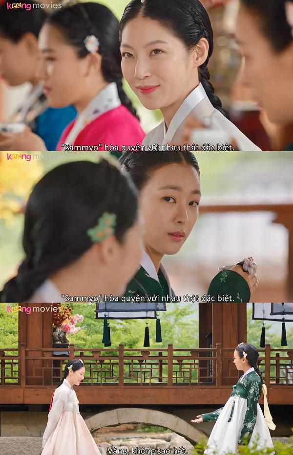 Gae Ddong vượt qua buổi thưởng trà suôn sẻ, mặc dù bị tiểu thư nhà Tể tướng gây khó dễ.