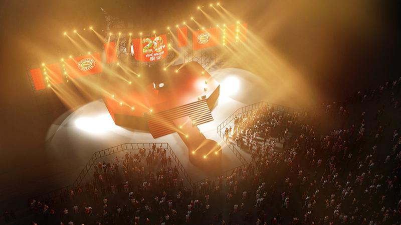 Hàng nghìn khán giả sẽ được dẫn dắt qua chuỗi sự kiện sôi động tại Đà Nẵng, Thủ đô Hà Nội và Tp. Hồ Chí Minh