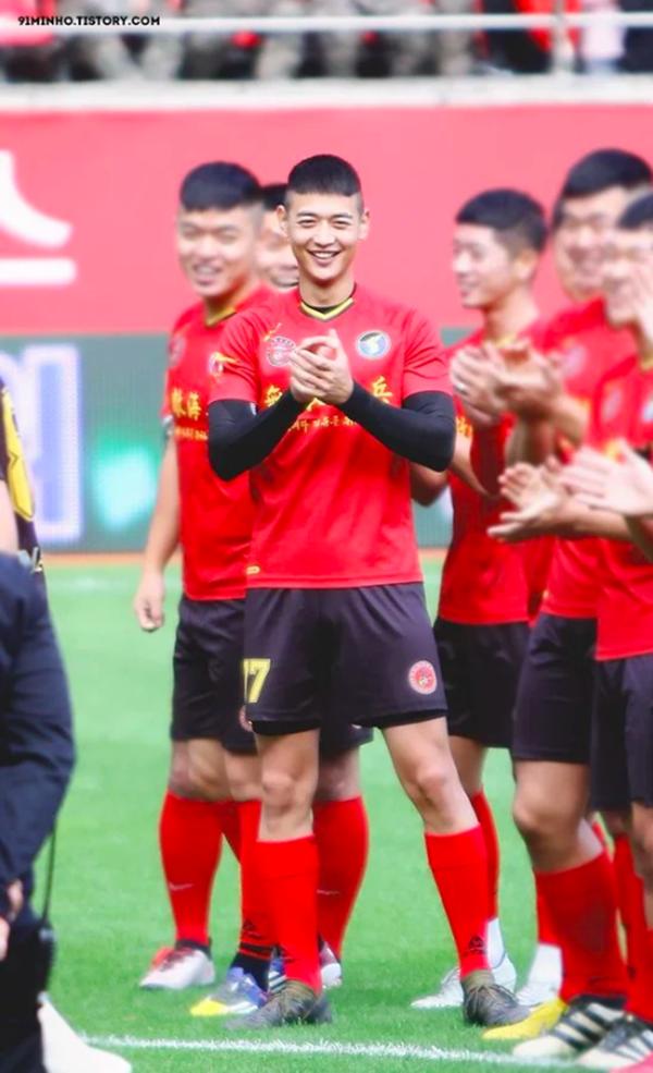 Đang phục vụ quân ngũ, Minho (Shinee) vẫn khiến fan phát 'sốt' với hình ảnh này 0