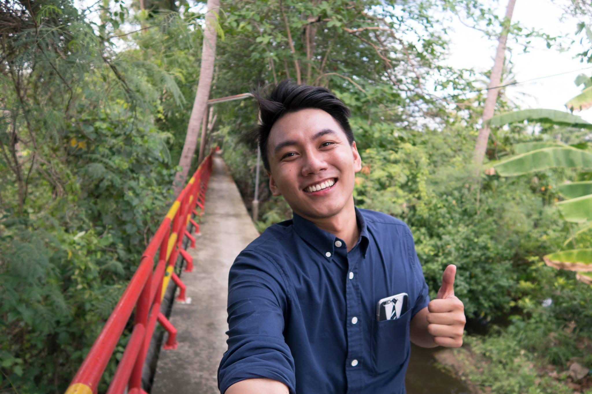 Khoai Lang Thang với nụ cười đã thành thương hiệu.