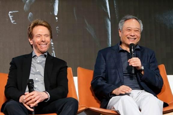 Nhà sản xuất Jerry Bruckheimer và Đạo diễn Lý An chia sẻ về quá trình làm phim tại sự kiện họp báo ở Youtube Space, Los Angeles, California ngày 04.10 vừa qua