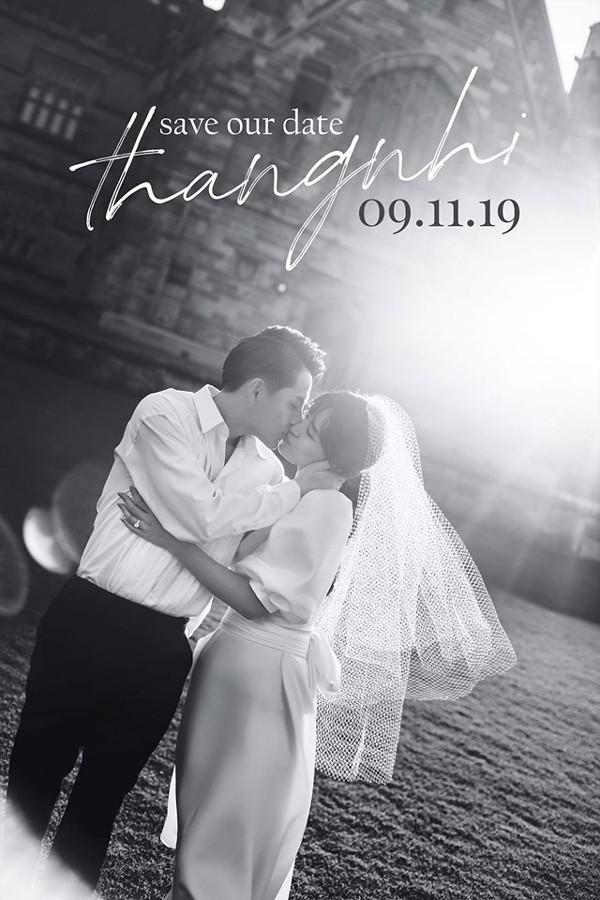 Họ sẽ có một đám cưới vào ngày 9/11/2019