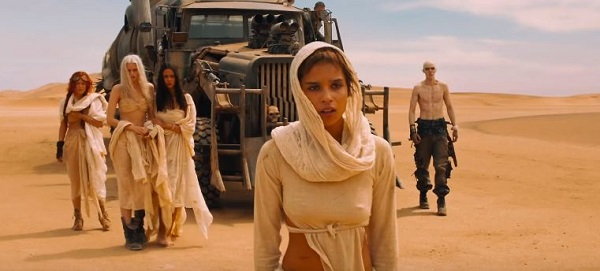 Zoe Kravtiz trongMad Max: Fury Road (2015).