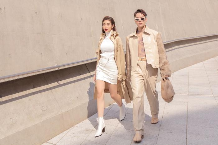 Kelbin Lei xuất hiện trên tạp chí Vogue khi đồng hành cùng Khổng Tú Quỳnh tại Seoul Fashion Week 1