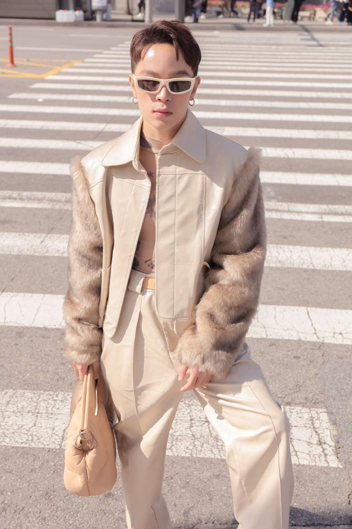 Kelbin Lei xuất hiện trên tạp chí Vogue khi đồng hành cùng Khổng Tú Quỳnh tại Seoul Fashion Week 3
