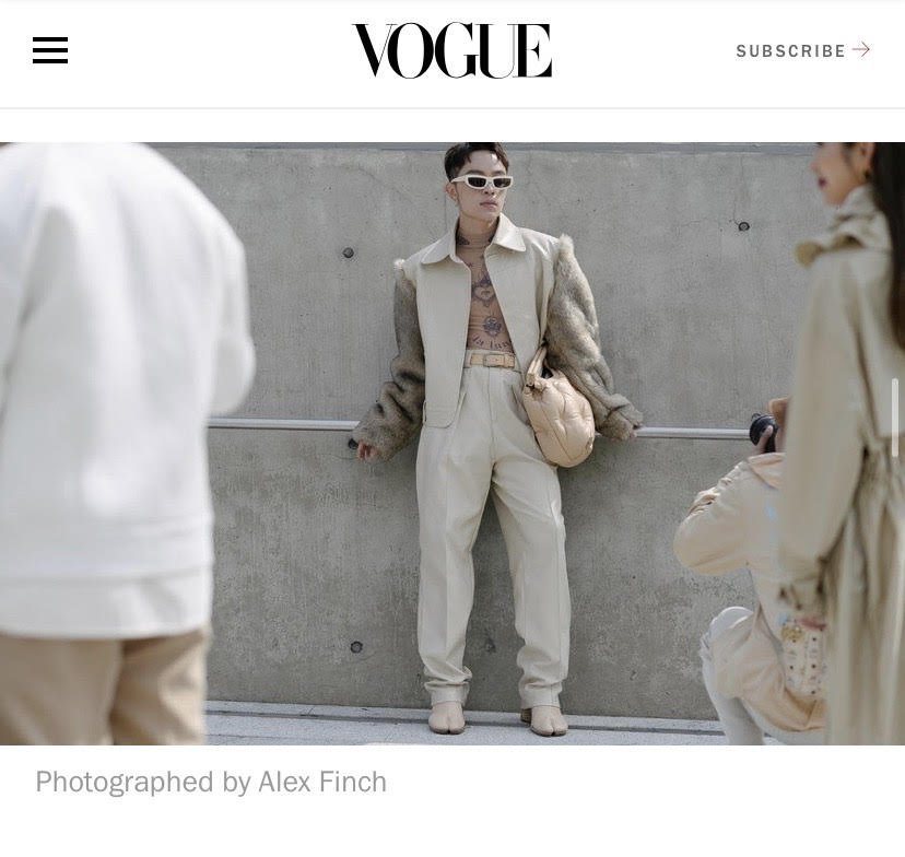 Kelbin Lei xuất hiện trên tạp chí Vogue khi đồng hành cùng Khổng Tú Quỳnh tại Seoul Fashion Week 4