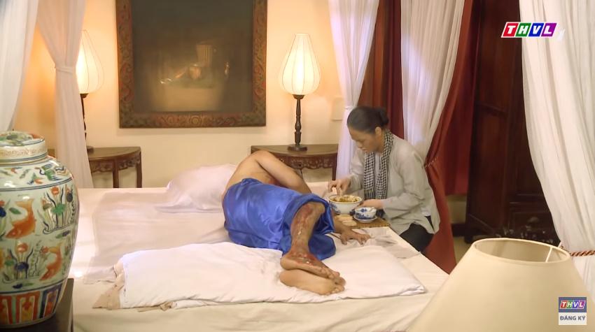 'Tiếng sét trong mưa' tập 41: Thị Bình khóc nức nở hát ru con trai ngủ, liệu cậu Hai có thấy tuổi thơ ùa về? 5