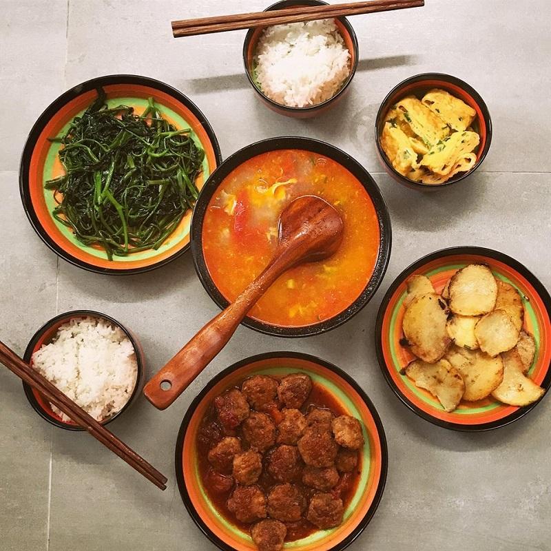 Khéo tay hết phần thiên hạ, vợ Huy Cung khoe thực đơn cả tuần không trùng bữa nào 3