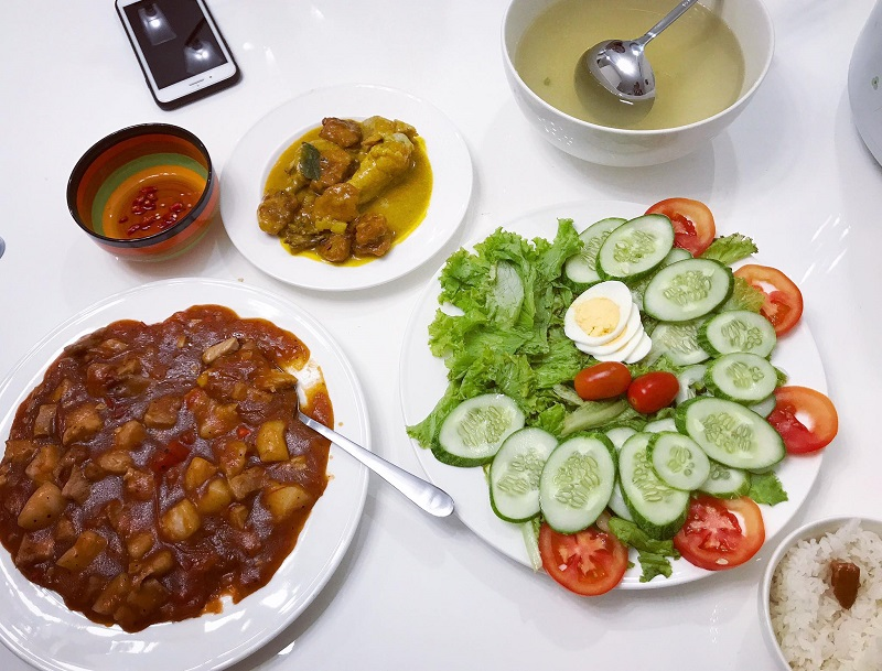 Khéo tay hết phần thiên hạ, vợ Huy Cung khoe thực đơn cả tuần không trùng bữa nào 8