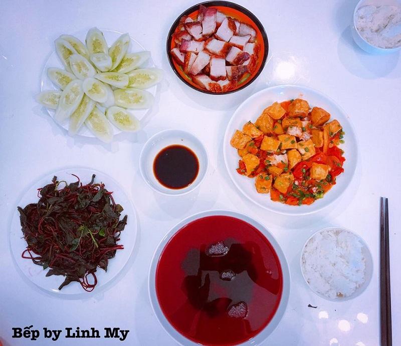 Khéo tay hết phần thiên hạ, vợ Huy Cung khoe thực đơn cả tuần không trùng bữa nào 11