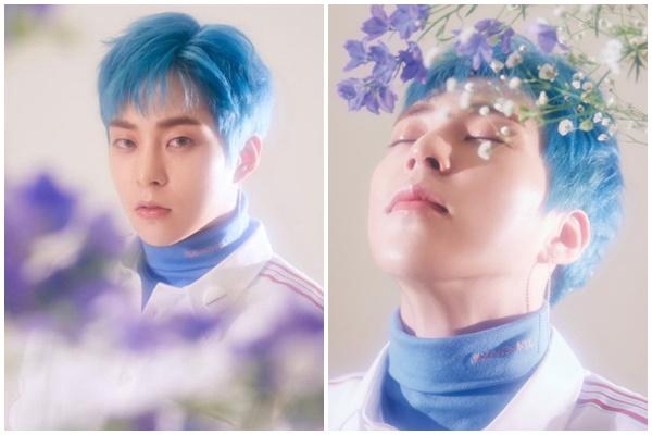 'Chơi' màu nhuộm tóc xanh khó nhằn nhưng các nam Idols này vẫn 'đốn tim' fans vì quá đẹp 9