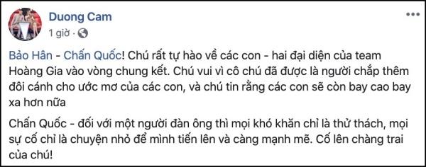 Hương Giang - Dương Cầm và 'nhân vật chính' Chấn Quốc nói gì sau sự cố 'đọc nhầm tên'? 2