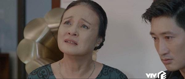 Dù thương con nhưng bà Hồng luôn phân biệt lẽ phải, không bênh vực những sai lầm mà Thái đã gây ra.