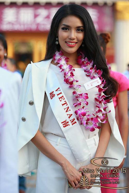 Lan Khuê được các chuyên gia trên toàn thế giới đánh giá khá cao từ những ngày đầu của cuộc thi, bởi vẻ đẹp lạ, hiện đại, gương mặt rất phù hợp với quảng cáo lẫn làng mẫu.