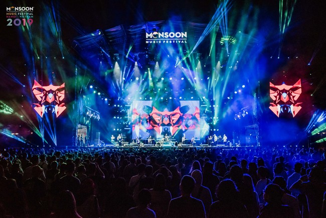HInhf ảnh Monsoon Music Festival 2019 đêm thứ 3