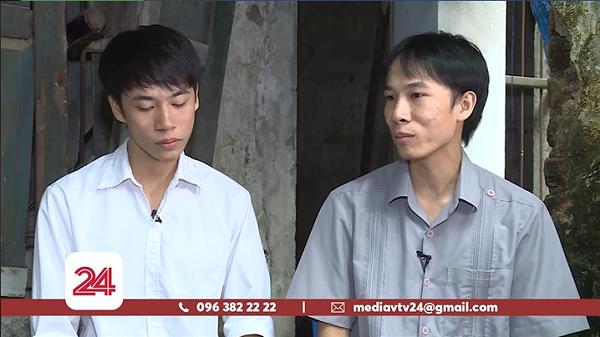 Hai anh em Trung Anh - Việt Anh xuất hiện giản dị, nghiêm túc trên sóng truyền hình, thẳng thắn chia sẻ quá trình làm phim của mình