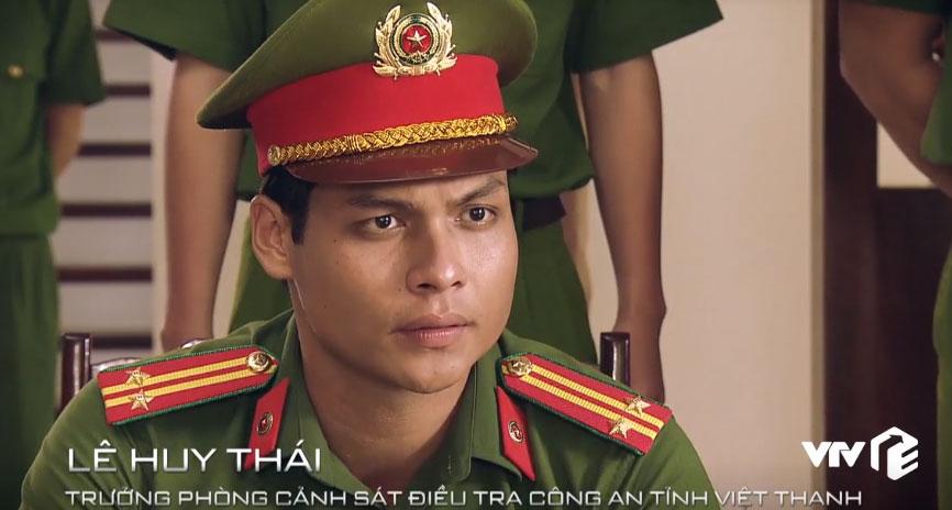 Huy Thái - Trưởng phòng cảnh sát điều tra Công an tỉnh.