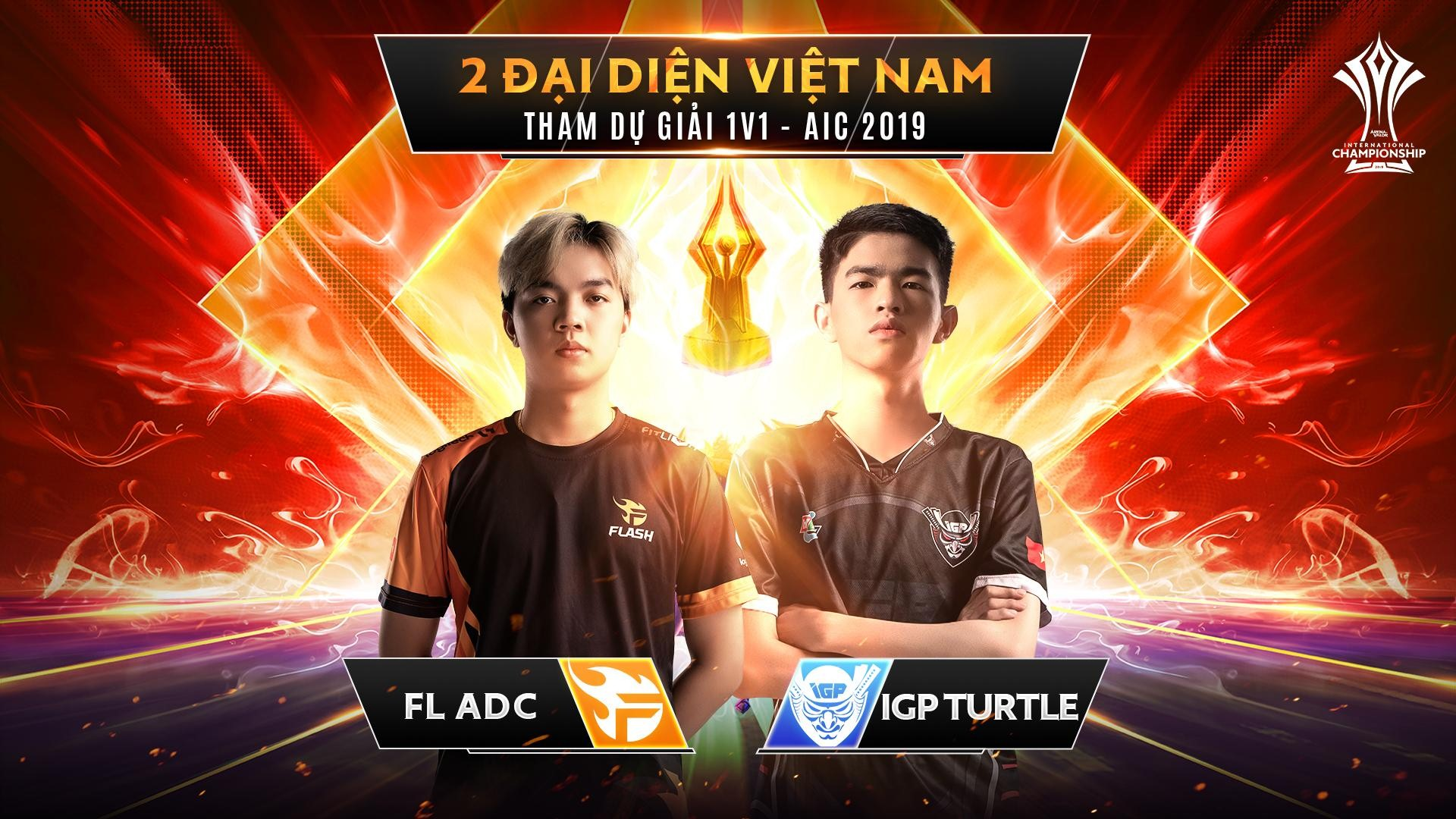 Liệu 2 người đi rừng tài năng của Liên Quân Mobile Việt Nam có thể giành chức vô địch tại giải 1v1?