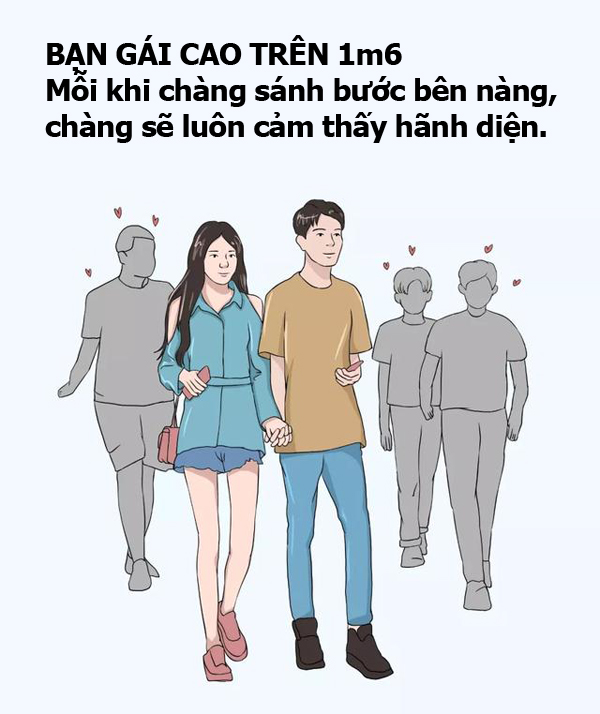 Bạn gái cao trên dưới 1m6 có sự khác biệt thế nào khiến chàng yêu say đắm? 10