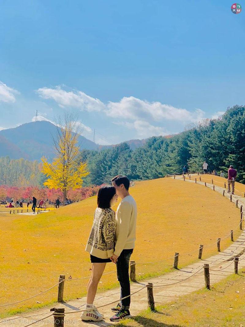 Thiên nhiên Hàn Quốc qua góc ảnh của du khách Việt: Đẹp ná thở, chỉ ước có tiền là bay liền sang đó 10
