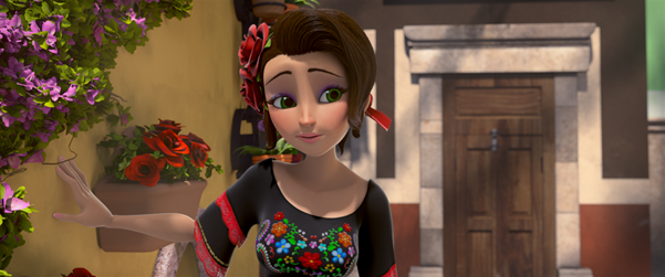 Nữ người hùng tuổi teen Salma.