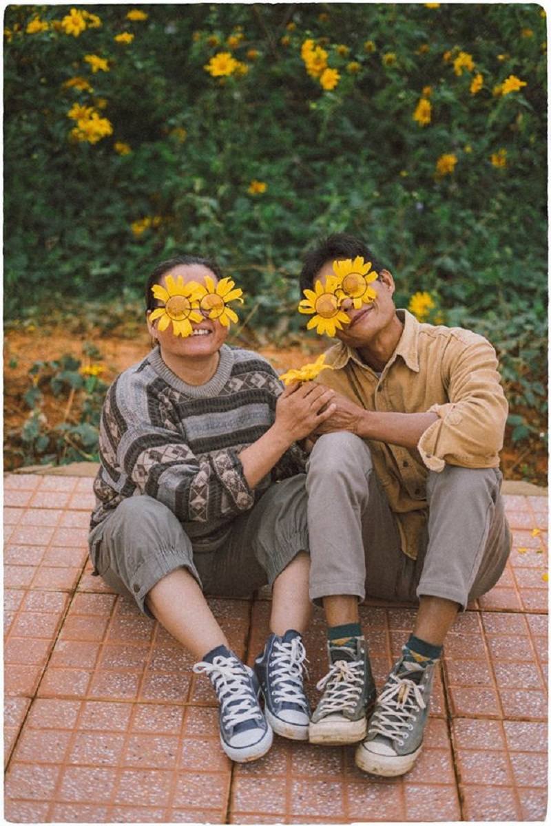 Bộ ảnh của cặp đôi U50 ở Đà Lạt: Khi con trai là photographer thì khoảnh khắc nào cũng đẹp tựa ảnh cưới 2