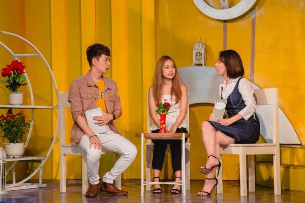 Làm show hẹn hò, Thu Trang - Ngô Kiến Huy mai mối thành công cho cô gái xinh đẹp 0