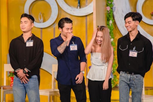 Làm show hẹn hò, Thu Trang - Ngô Kiến Huy mai mối thành công cho cô gái xinh đẹp 3