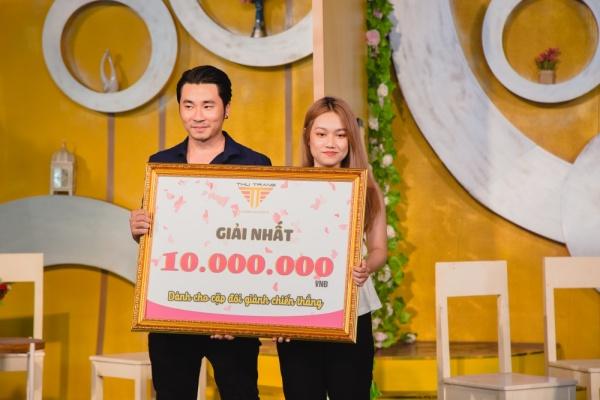 Làm show hẹn hò, Thu Trang - Ngô Kiến Huy mai mối thành công cho cô gái xinh đẹp 4