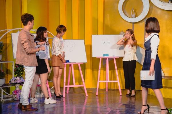 Làm show hẹn hò, Thu Trang - Ngô Kiến Huy mai mối thành công cho cô gái xinh đẹp 1