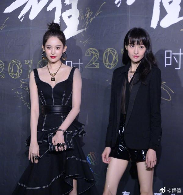 Sự kiện thời trang của L'Officiel sẽ như bao sự kiện khác nếu không có sự góp mặt cùng lúc của Cổ Lực Na Trát và Trịnh Sảng.