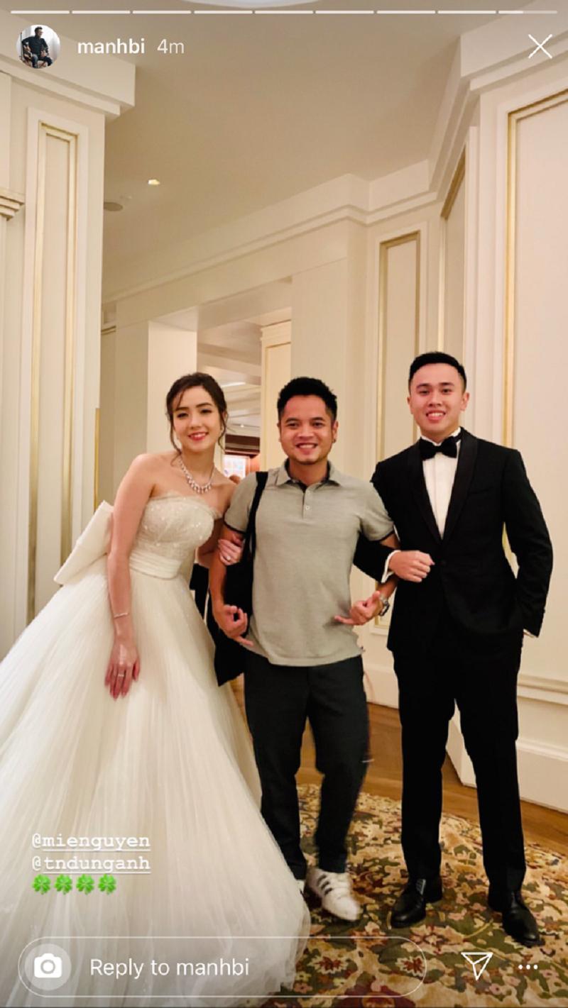 Hot girl Mie Nguyễn cùng chồng về dinh sau 3 năm yêu 3