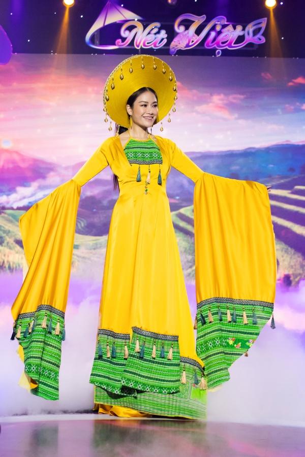 Lê Âu Ngân Anh, Mai Ngô catwalk điêu luyện trong show thời trang - âm nhạc 9