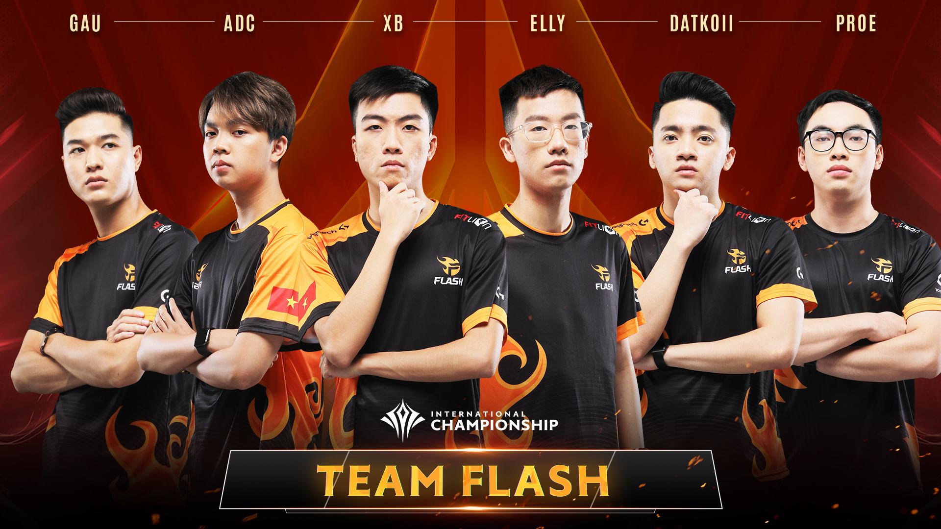 Team Flash dừng chân ở vị trí số 2 bảng B sau hạt giống số 1 chủ nhà Thái Lan Buriram United