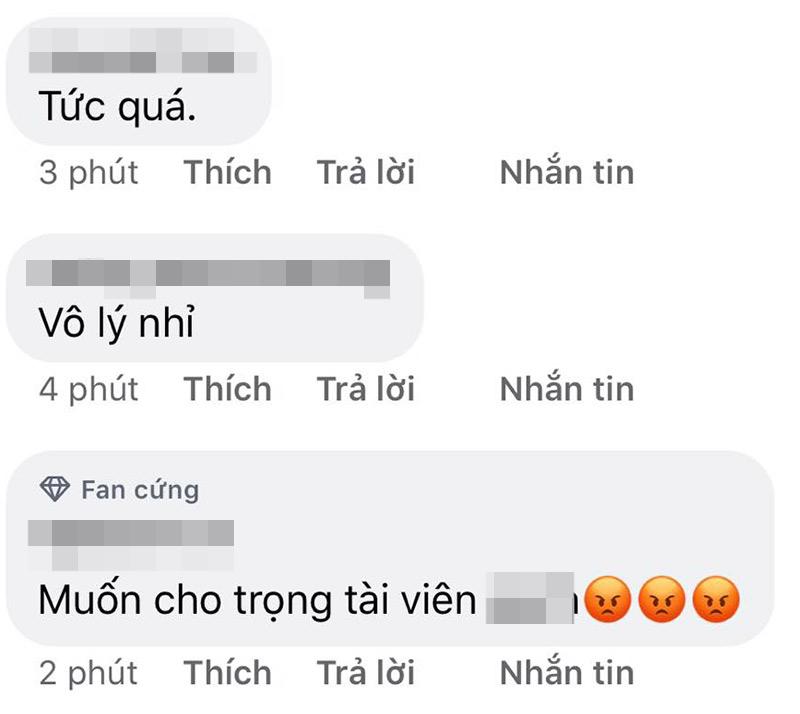 Dân tình bức xúc trước phán quyết của trọng tài với bàn thắng của đội tuyển Việt Nam.