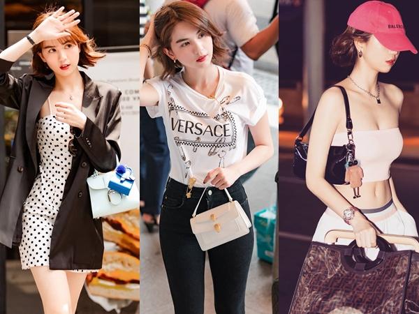 Ngoài những chiếcHermès xa xỉ, Ngọc Trinhcòn sở hữu nhiều chiếc túi đắt đỏ khác đến từ loạt thương hiệu đình đám như Fendi, Bulgari, Louis Vuitton,....