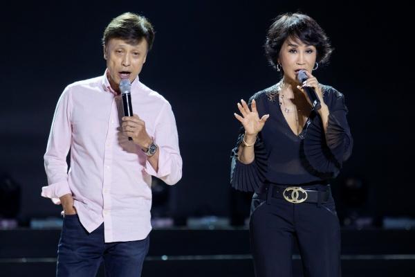 Thu Phương, Lam Trường, Hà Anh Tuấn cùng dàn nghệ sĩ tập luyện cho đêm nhạc hoành tráng 3