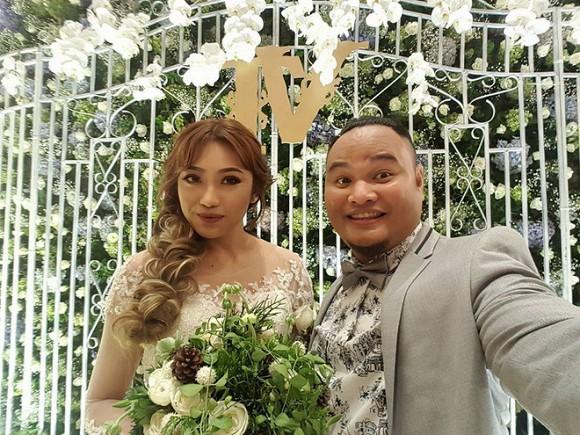 Vợ chồng Vinh Râu - Lương Minh Trang kết hôn vào năm 2017