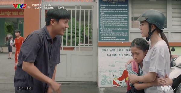 Bé Hương không nhận người từng đi tù như Minh làm ba.