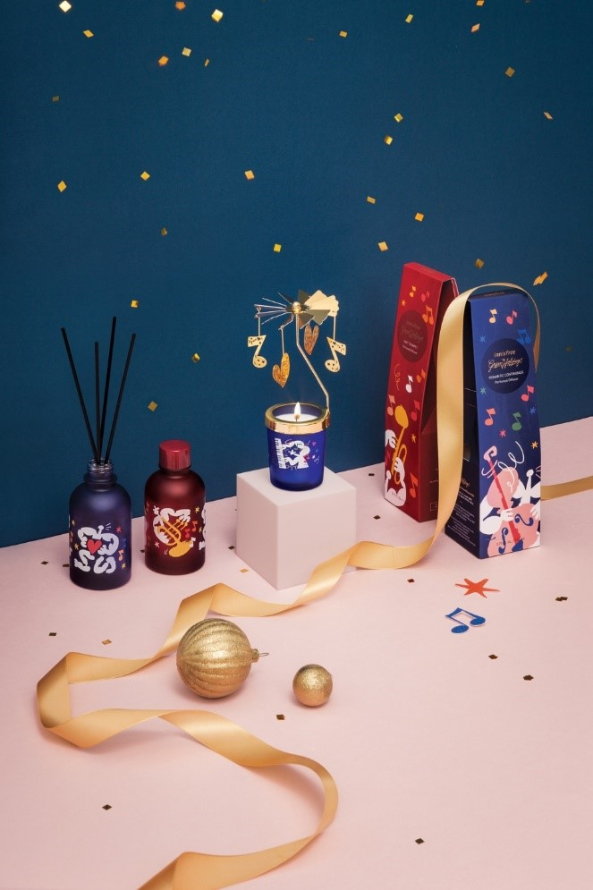Giáng sinh lấp lánh với bộ mỹ phẩm sang-xịn-đẹp từ Innisfree, cô gái nào nhìn thấy cũng khó lòng làm ngơ 4