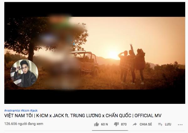 Lượt views trực tuyến của 'Việt Nam Tôi' không đạt thành tích như các fans kì vọng