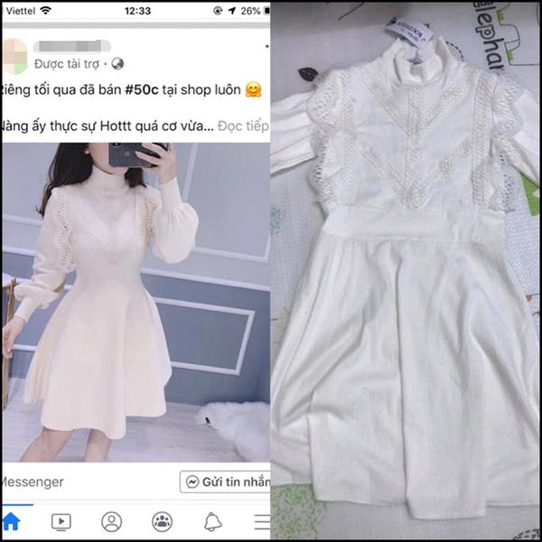 Mua được chiếc váy nhân dịp Black Friday, tưởng có váy đi ăn cưới mà hóa ra đã nhầm. Ảnh: Nguyễn Bích Ngọc.