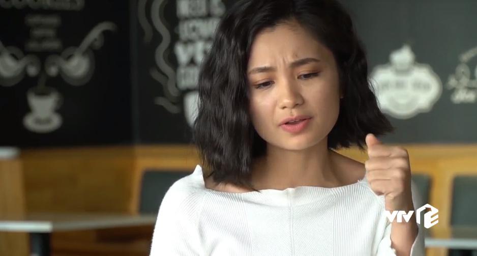 Nhân vật San cũng bị ghét khi phản đối anh Bảo thích Khuê.