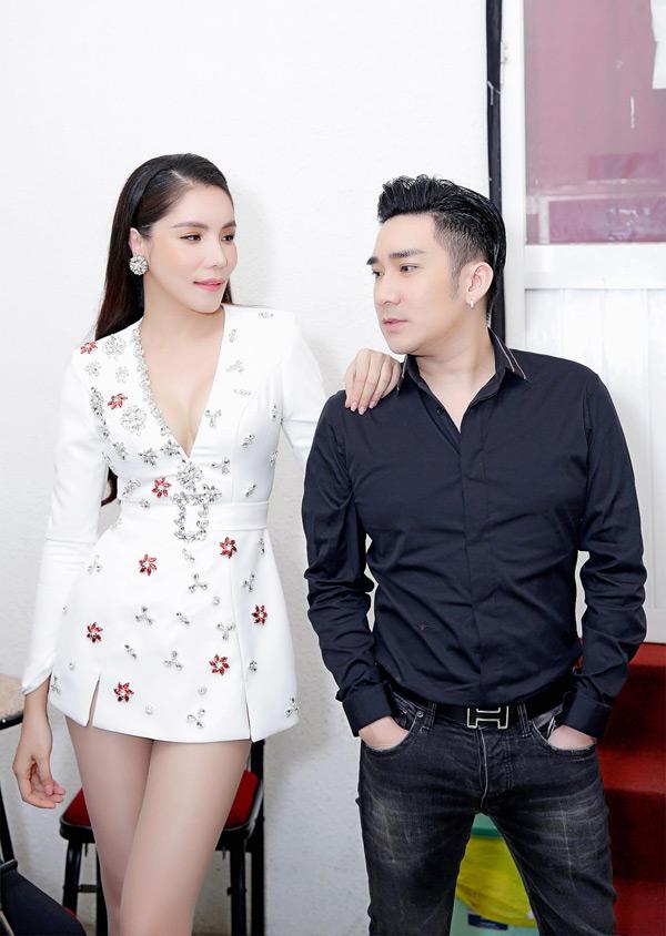 Kiwi Ngô Mai Trang - Quang Hà sẽ cùng song ca bài hátThuyền tình trên sóng.
