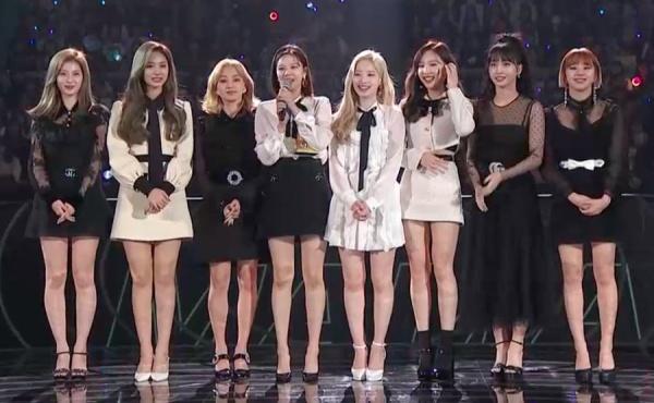 Jihyo chỉ xuất hiện ở lần nhận giải đầu tiên - Nhóm nữ xuất sắc nhất.