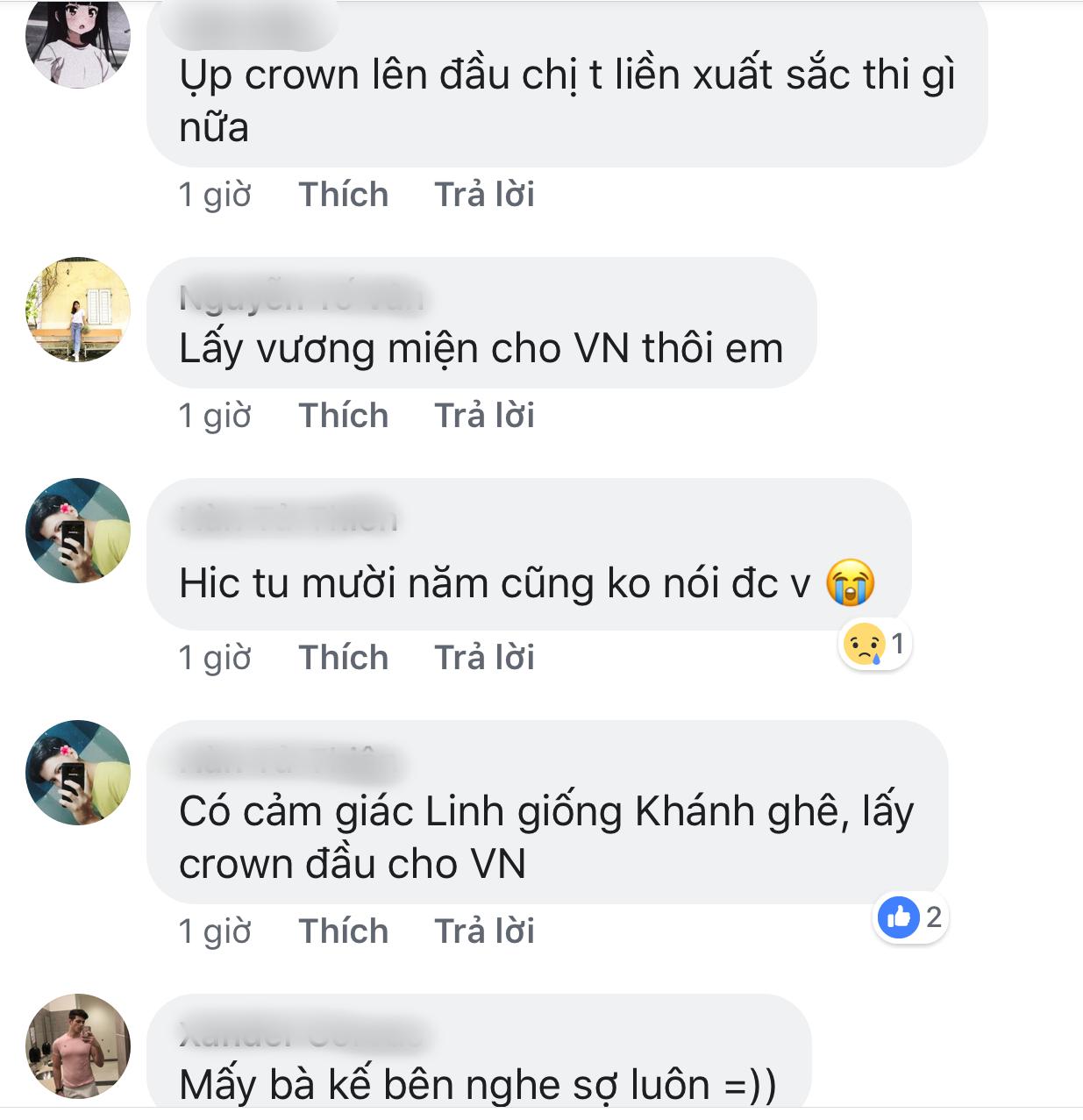 Người hâm mộ dành nhiều lời khen ngợi cho Lương Thuỳ Linh.